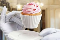 Silicone Tea Cupcake Mold with Saucer Afternoon tea cupcakes