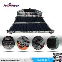 Supply Ivopower OEM Folding Solar travel battery charger