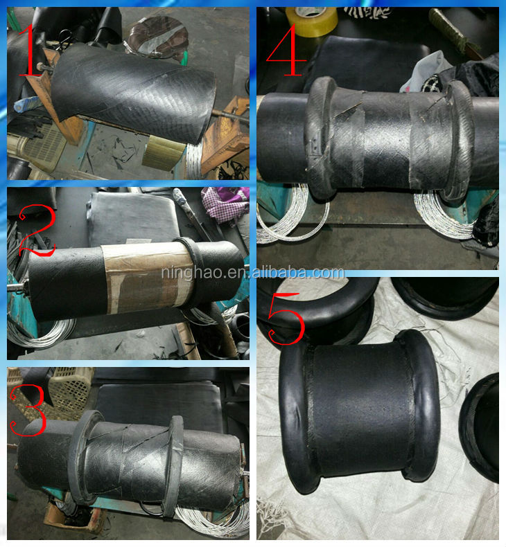 NBR flange type rubber expansion joint