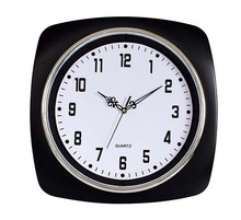 A large size of square wall clock can be printed plastic wall clock