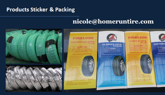 transking tire sticker package
