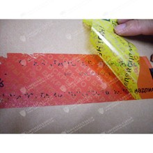 Free Samples Total Transfer Security Void Tape for Shipping Important Goods