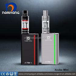 Smok Best Selling E Cig 75 Wattage Ecig New Smok 75W Box Mod Smok Xcube Mini