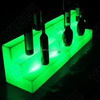 LED wine display/LED lighting display glowing cube