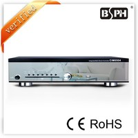 Multi-room Background Music System CIM-0504, 4 zones controlling, 8 ohms output