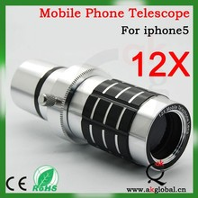 for Samsung galaxy s3 lens, 12X telescope lens for s3, 12X telescope lens for iphone 6