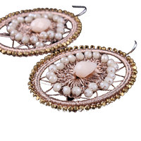 Daily Wear Jewelry Fashion Lady Handmade Vintage Earrings