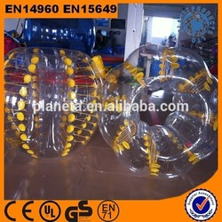 Popular And Funny Top Quality PVC Inflatable Bubble Football For Sale