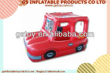 PVC inflatable fire truck ball pit EN71 approved