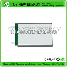 rechargeable lithium ion polymer bttery for led light