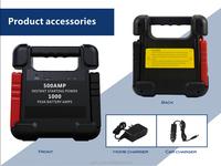 24v Jump starter kit 24000mAh lithium batteries for car emergency start and instant roadside assistance