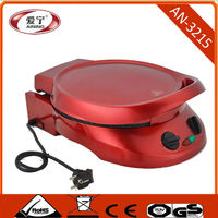 180 Degree Flat Heating Electric Pizza Oven For Sale With Switch Bottom