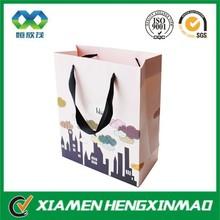 OEM manufacture factory price shopping bag hot-selling garment packaging paper bag