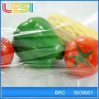 Wholesale custom high quality clear plastic food packaging bag