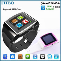 Android IOS Sync 1.3MP Camera Email Anti Lost watch phone wifi gps