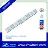 Lead wheel weight adhesive tape best seller self die casting zn wheel weight