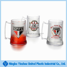 hot new product for 2015 for 15 oz custom double layer plastic beer drinking cup