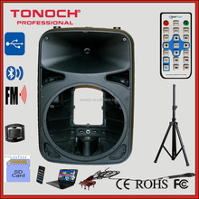 THR manufacturer Professional 8 inch 10 inch 12inch 15 Plastic 215inch Empty Loudspeaker Cabinet for cheapest price