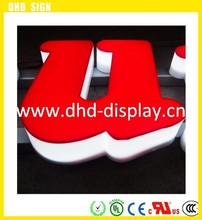 New product advertisment resin acrylic letter sign,New arrival popular bottle acrylic display