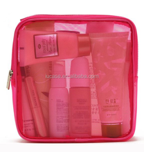 nylon mesh personalized cosmetic bags compartments