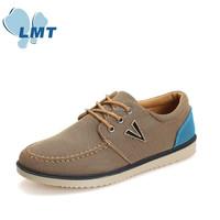 Wholesale China online shop fashion men canvas shoes New style man dress shoe