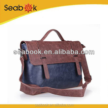 Mens Messenger Bag, Leather Messenger Handbag