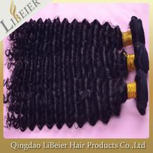 2015 Raw Unprocessed virgin brazilian jerry curl hair weave extensions human hair
