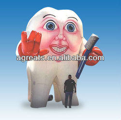 cheap sale giant inflatable tooth for advertising S6036