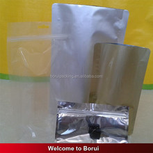 stand up aluminum foil food bag for biscuit/cookies/dry food/dry fruit