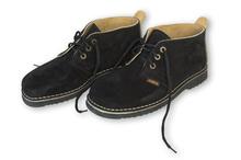 "Leather shoes for men - ""black"""