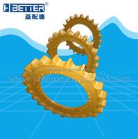 Kato HD450 excavator undercarriage parts sprocket
