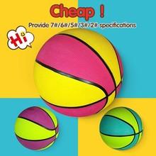 Custom printed mini basket ball,custom rubber basketballs