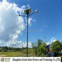 90w Double arm miniature solar panels WaterProof residential district light