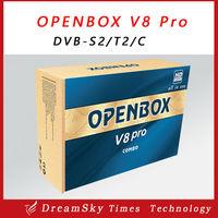 Openbox V8 Pro Combo Receiver DVB-S2&T2&C V8 Pro satellite receiver USB Wifi VOD Support Cccamd newcamd TV BOX