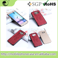 Cheap Goods From China Anti Shock stylish mobile phone back cover For Samsung S6