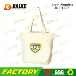Non-pollution Manufacturer Canvas Craft Tote Bags DK-HT307