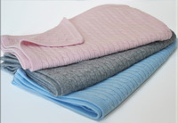 Cashmere Cable-Knit Baby Blanket