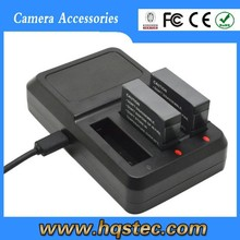 GP208 Three-Charger with USB Port for GoPros 4 Can Charge 3pcs AHDBT-401 Li-ion Battery at the same time