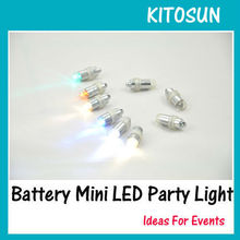 Amazing color Waterproof battery operated Mini LED ballon lights for Wonderful dance party decoration