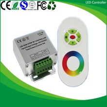 Good quality Stable RF Touch 5 keys RGB led controller
