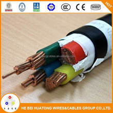 DIN xlpe/pvc jacket copper Conductor XLPE Insulated Power round cables with Low voltage