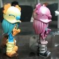 Oem de plástico de dibujos animados figura, 3d de plástico de dibujos animados anime figura la figura de plástico para la colección