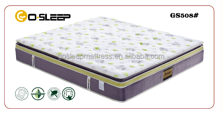 2015 Best Selling Thin Latex Mattress Latex With Pocket