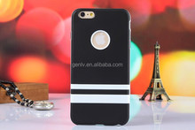 Simple Cellphone Case Hight Quality Translucent Matte two in one for 6G Mobile Phone Shell Back cover