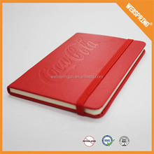 22-0103 Wholesale a4 hard cover notebook, silicone notebook leather notebook covers