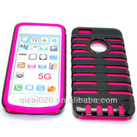 PC & Silicon case for Iphone 5G