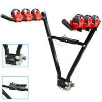 3 Bike Rear Tow bar Mount Cycle Bicycle Carrier Car Rack Tow Bar Tow ball