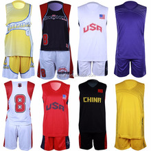 cheap 2015 new european sublimation college youth basketball uniform design
