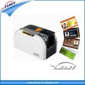 Plástico pvc impressora de cartões de id hiti cs200e e impressora e fita da impressora e cartões em branco fornecedor