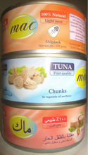 Mac canned tuna
